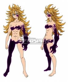 The Seven Deadly Sins: Revival Of The Commandments Nanatsu No Taizai Season 2 Derieri Cosplay Costume