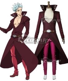 The Seven Deadly Sins: Revival Of The Commandments Nanatsu No Taizai Season 2 Ban Cosplay Costume
