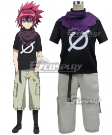 Twin Star Exorcists Shimon Ikaruga Cosplay Costume