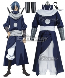 That Time I Got Reincarnated as a Slime Tensei Shitara Suraimu Datta Ken Souei Cosplay Costume - Including Horn Clips