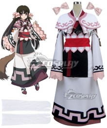 Utawarerumono The False Mask Itsuwari no Kamen Rurutie Cosplay Costume