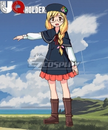 UQ Holder Kirie Sakurame Cosplay Costume
