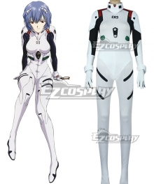 EVA Neon Genesis Evangelion Rei Ayanami Combat Suit Cosplay Costume