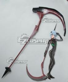 EVA Neon Genesis Evangelion Rei Ayanami Sickle Cosplay Weapon Prop