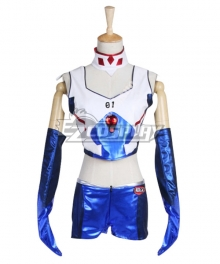 EVA Neon Genesis Evangelion Shinji Ikari Racing Suits Cosplay Costume