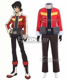 Voltron: Legendary Defender Keith Cosplay Costume
