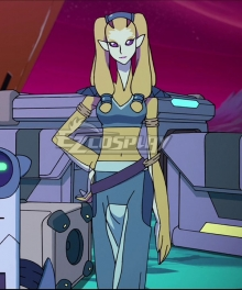 Voltron: Legendary Defender Nyma Cosplay Costume