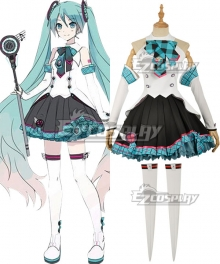 Vocaloid Hatsune Miku Magical Mirai 2017 Cosplay Costume - No Head wear