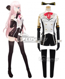 Vocaloid Project Diva Megurine Luka Uniform Halloween Cosplay Costume