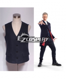 Who is Doctor Twelveth 12th Dr. Dark Blue Vest Cosply Costume