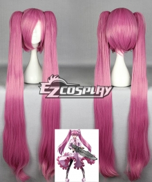 Akame Ga Kill! Night Raid Main Mine Pink Cosplay Wig