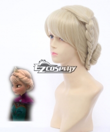 Frozen Snow Queen Elsa Coronation Style Disney Cosplay Wig