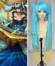 League of Legends Sona Buvelle/Maven of the Strings Cosplay Wig