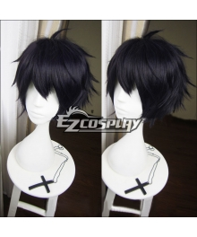 Seraph of the End Owari no Serafu Vampire Reign Yuichiro Hyakuya Yuichiro Amane Short Black Cosplay Wig 366A