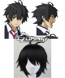 Kuusen Madoushi Kouhosei no Kyoukan Kanata Age Kanata Eiji Balck Short Cosplay Wig