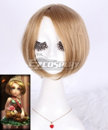 League of Legends LOL Annie The Dark Child Prom Princess Yellow Cosplay Wig
