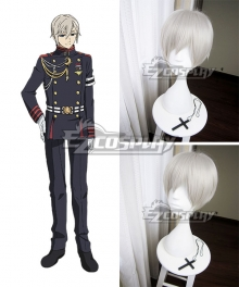Seraph of the End Battle in Nagoya Owari no Serafu Vampire Reign Shinya Hiragi Gray Cosplay Wig