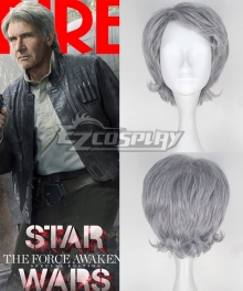 Star Wars The Force Awakens Han Solo Cosplay Wig