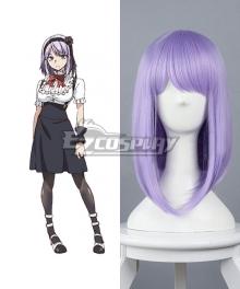 Dagashi Kashi Hotaru Shidare Purple Cosplay Wig