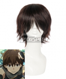 Grimgar of Fantasy and Ash Haruhiro Brown Cosplay Wig