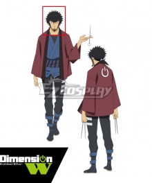 Dimension W Kyouma Mabuchi Black Cosplay Wig