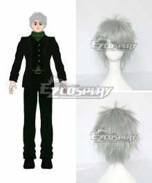 RWBY Beacon Academy Staff Professor Ozpin Oz Silver Cosplay Wig