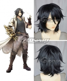 God Eater Rindou Amamiya Black Cosplay Wig
