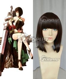 God Eater Sakuya Tachibana Brown Black Cosplay Wig