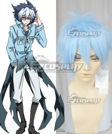 Servamp Kuro Sloth Blue Cosplay Wig