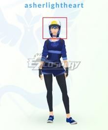 Pokémon GO Pokemon Pocket Monster Trainer Female Blue Cosplay Wig