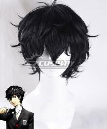 Persona 5 Joker Protagonist Akira Kurusu Ren Amamiya Black Cosplay Wig