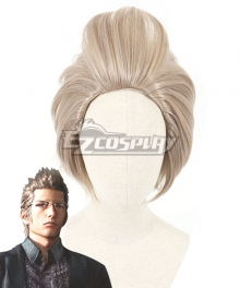 Final Fantasy XV Ignis Scientia Blonde Cosplay Wig