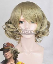 Final Fantasy XV  Cindy Aurum Light Green Cosplay Wig