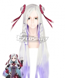Sword Art Online Ordinal Scale Yuna Movie Multicolor Cosplay Wig - No Head wear