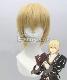 Tales of Berseria Eizen Gold Cosplay Wig
