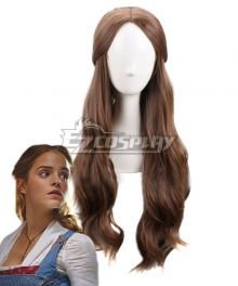 Disney Beauty and The Beast Movie 2017 Belle Deep Brown Cosplay Wig