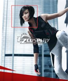 Mirror's Edge 2 Faith Black Cosplay Wig