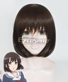 Saenai Heroine No Sodatekata Megumi Kato Black Cosplay Wig