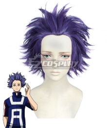 My Hero Academia Boku no Hero Akademia Hitoshi Shinsou Purple Cosplay Wig