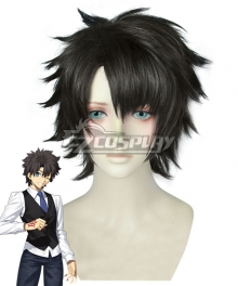 Fate Grand Order Male Master Black Cosplay Wig