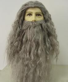 The Hobbit The Lord of the Rings Gandalf the Grey Cosplay Wig