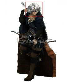 Fire Emblem Fates IF Niles White Cosplay Wig