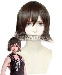 Final Fantasy XV Iris Amicitia Red brown Cosplay Wig