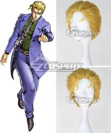 JoJo's Bizarre Adventure Yoshikage Kira Golden Cosplay Wig