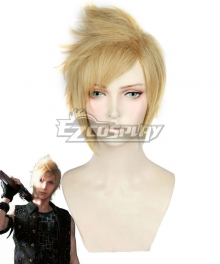 Final Fantasy XV Prompto Argentum Golden Cosplay Wig - C Edition