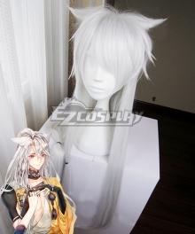 Touken Ranbu Kogitsunemaru White Cosplay Wig