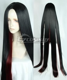 Land of the Lustrous Houseki no Kuni Bort Black Deep Red Cosplay Wig