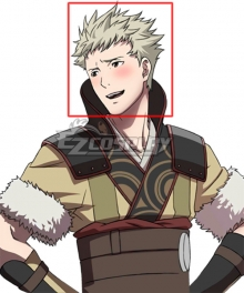 Fire Emblem Awakening Owain Light Yellow Cosplay Wig