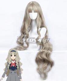 Darling in the Franxx Kokoro Code 556 Light Yellow Grey Cosplay Wig