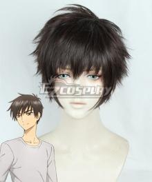 Cardcaptor Sakura: Clear Card Toya Kinomoto Black Cosplay Wig